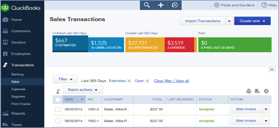 job costing in quickbooks
