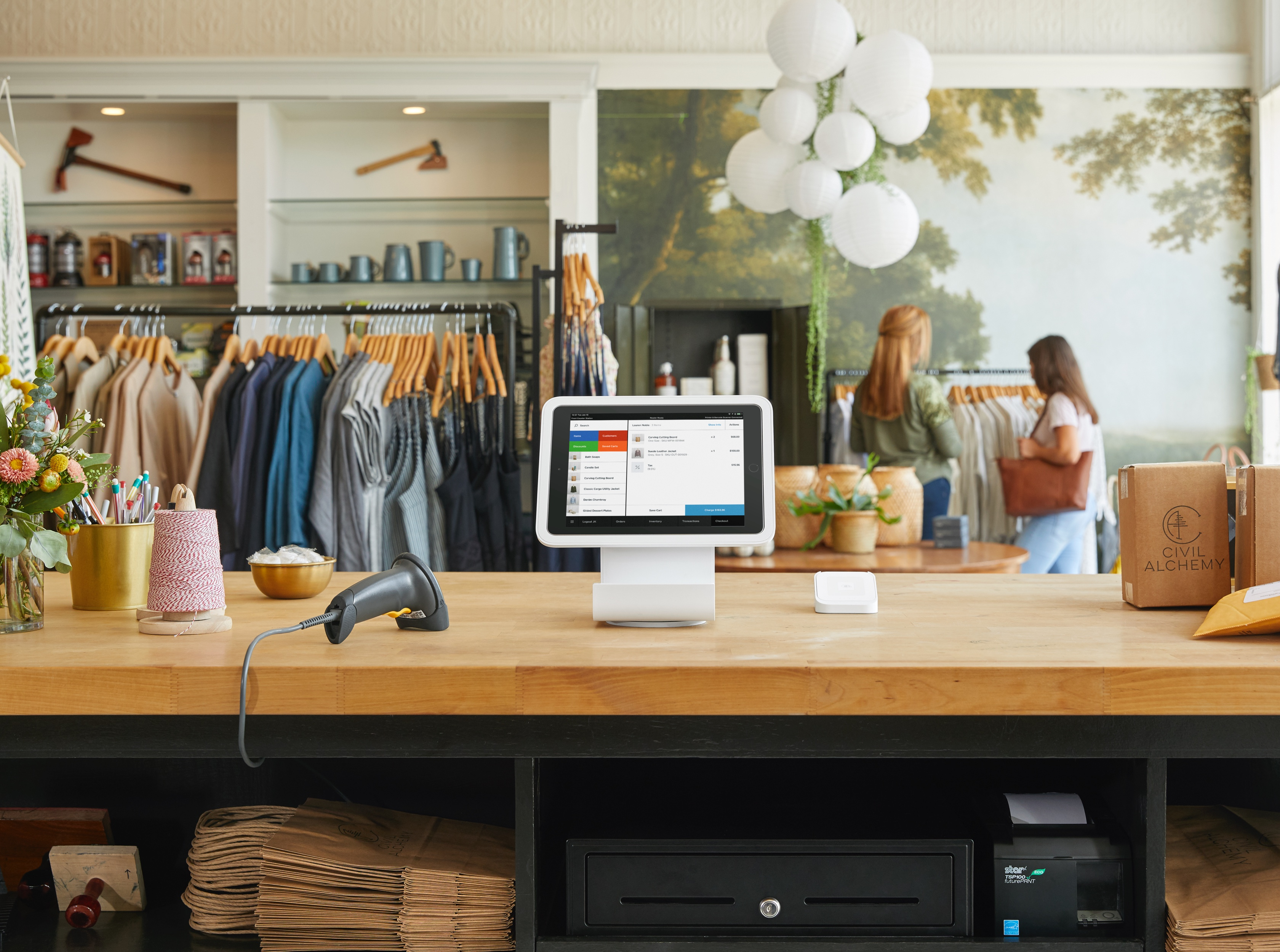 square reader makes it easier to calculate sales tax