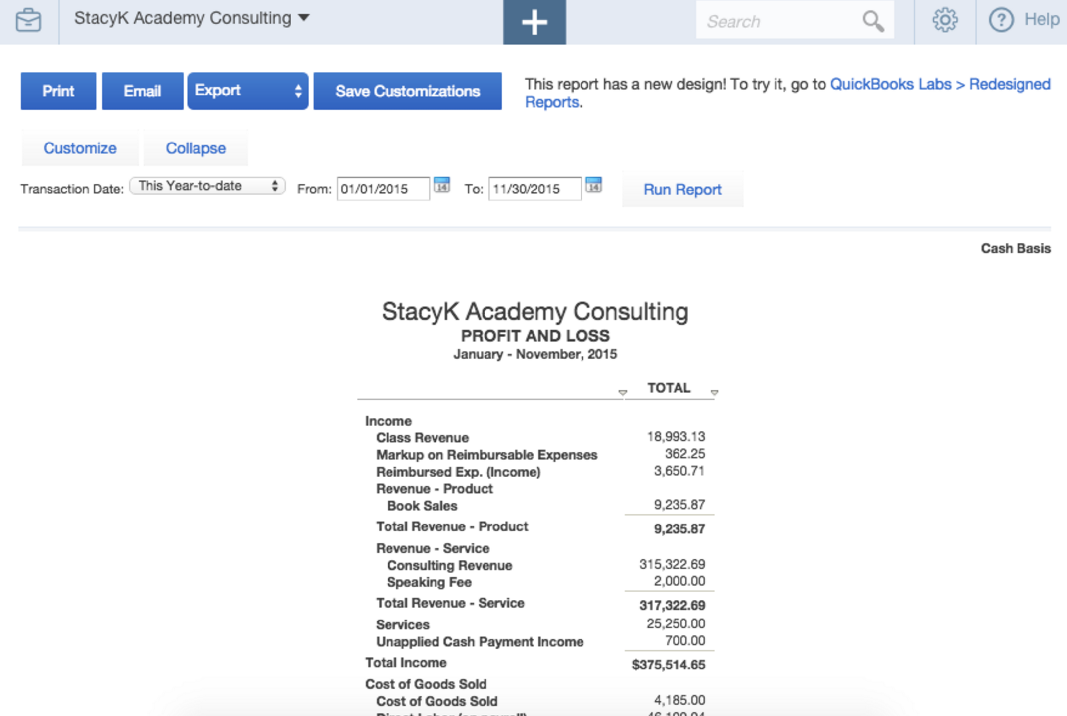 a step by step guide to getting important financials from quickbooks