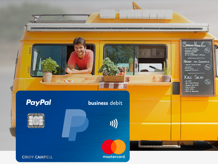 PayPal Business Debit Card