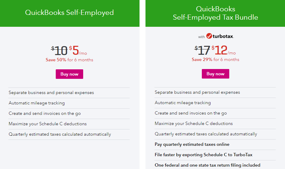 QuickBooks-Self-Employed