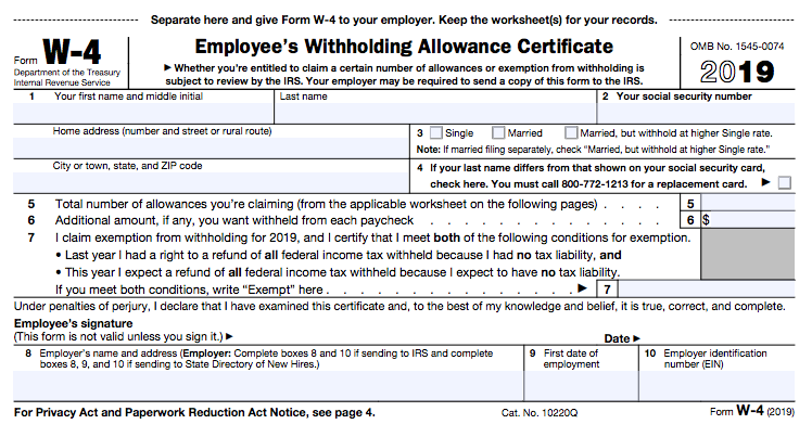Employees have payroll tax responsibilities like providing an accurate W-4 form