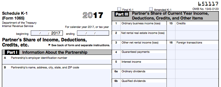 schedule k-1 tax form: what is it and who needs to know?