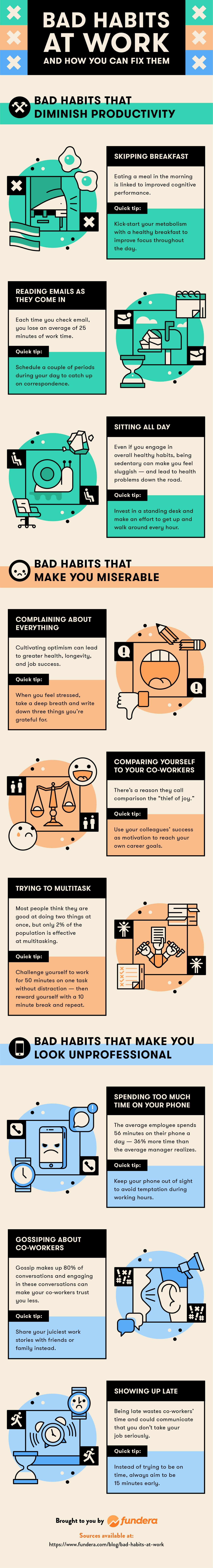 9 Bad Work Habits—and How to Break Them