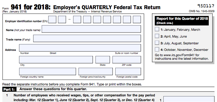 Irs Form 941 Who Needs To File It And How To Fill It Out