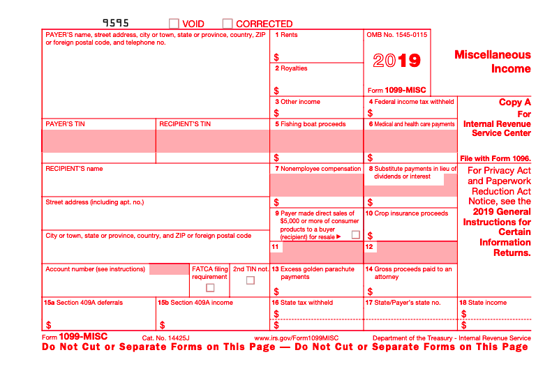 1099 form instructions  12-MISC Form: The Ultimate Guide for Business Owners