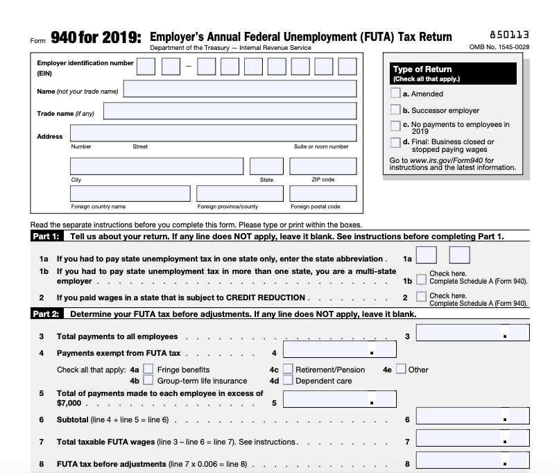 Payroll Taxes: 2020 Payroll Tax Rates And Filing Deadlines