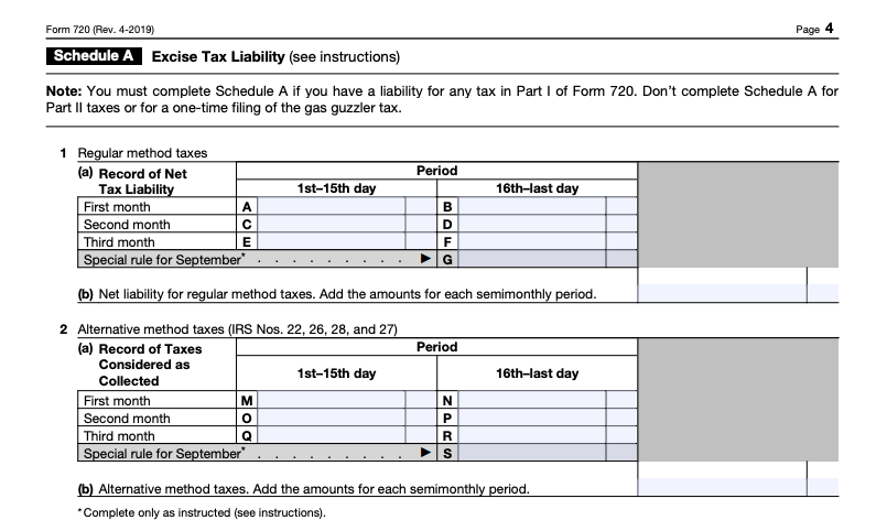 Form 720 Instructions: Where to Get IRS Form 720 and How to