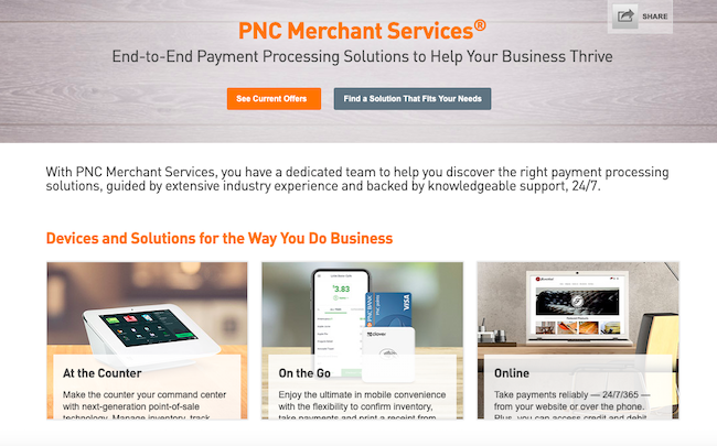 PNC Merchant Services Review 2019, Plus Top Alternatives