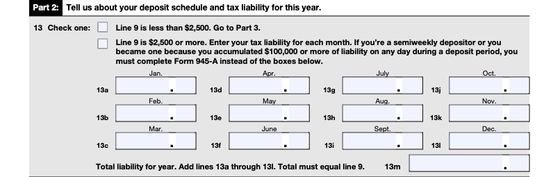 irs form 944 part 2