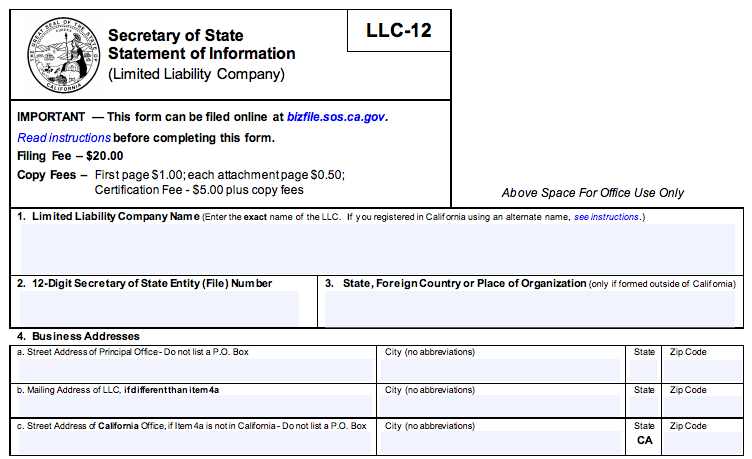 Our How To Set Up An Llc In California Ideas