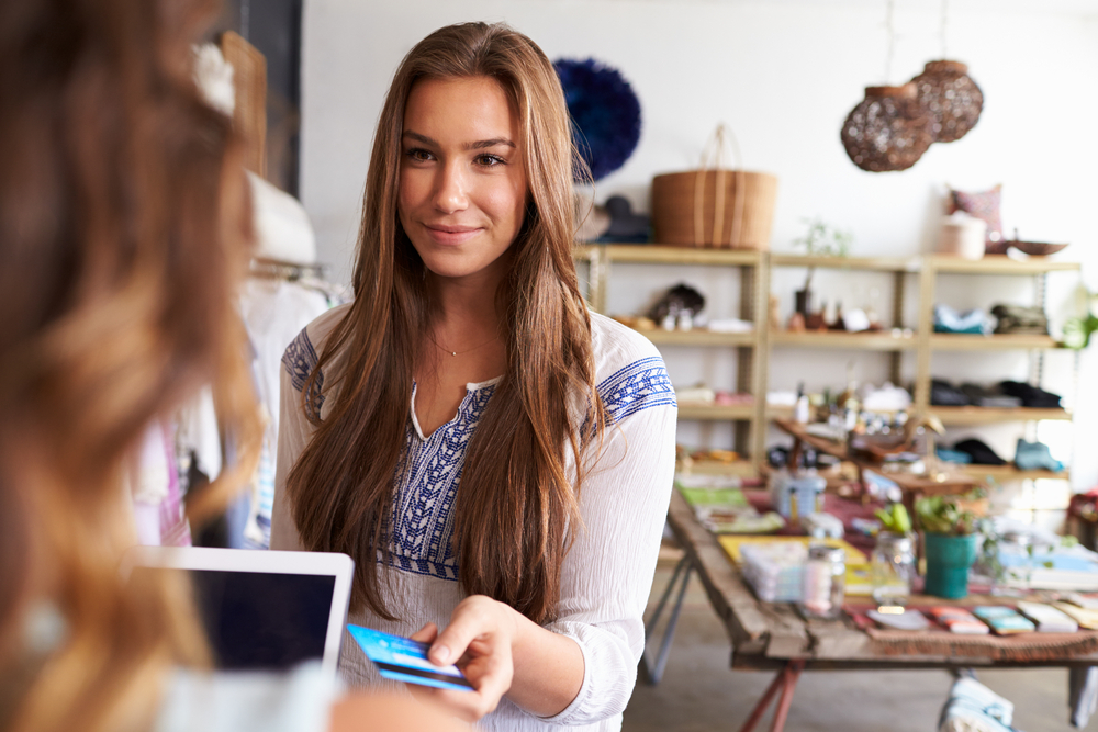 processing customer credit card with card payment solutions