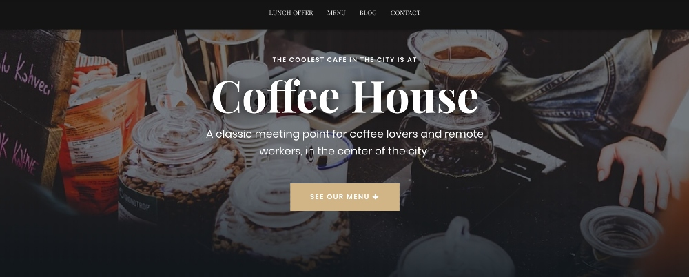 The free Hestia WordPress theme delivers one-page simplicity for ecommerce-enabled landing pages and mini-sites.