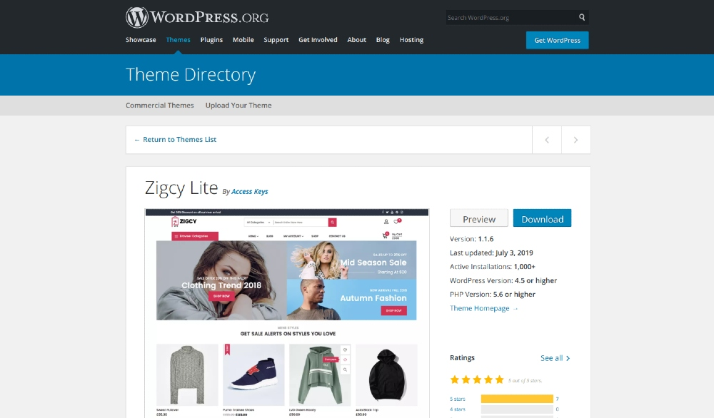 15 Free Ecommerce WordPress Themes for Side-Gigs and