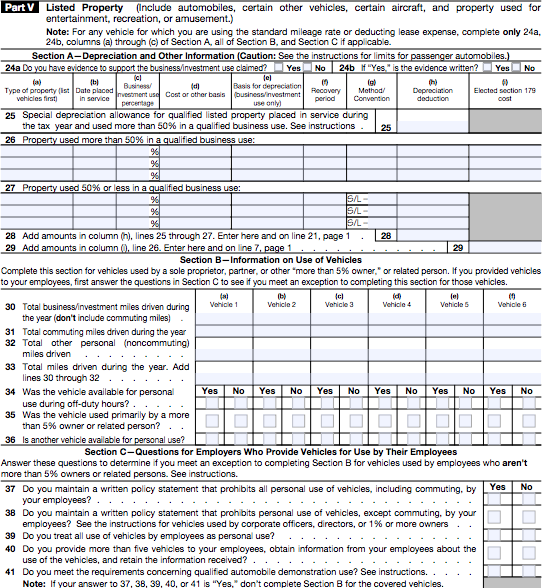 IRS Form 4562 Instructions: The Complete Guide
