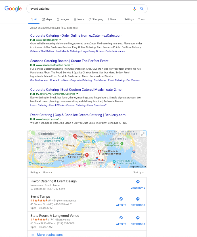 Google Business Listing