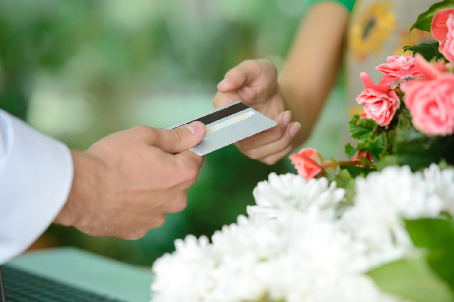 accepting credit cards in-person with paya payments