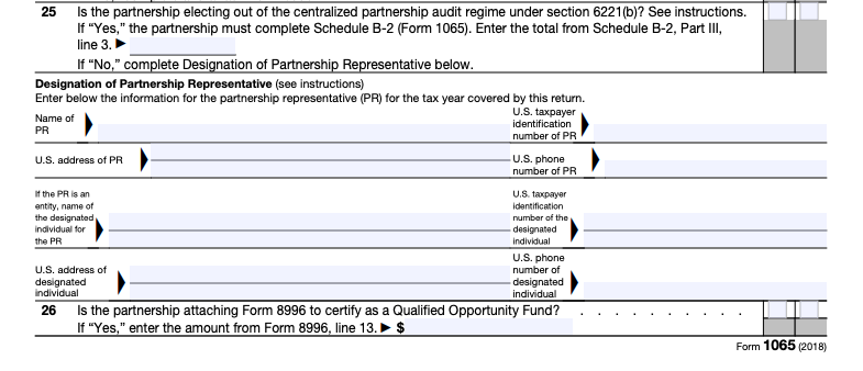 form 1065 partnership representative  IRS Form 8 Instructions: A Step-by-Step Guide