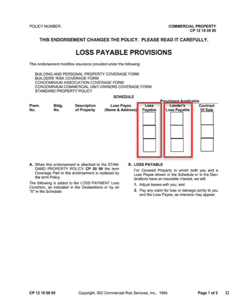 Loss Payee Vs Lender S Loss Payable A Guide For Small Businesses