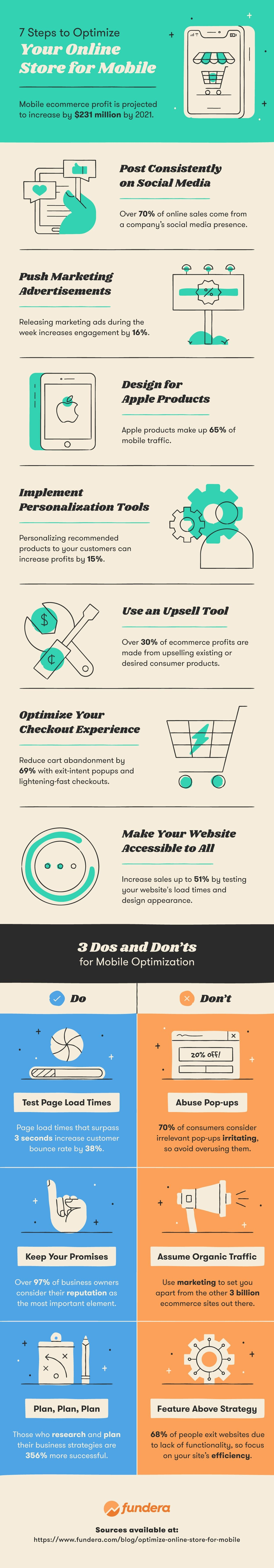 optimize your online store for mobile