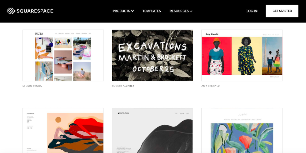 how to sell art online, squarespace