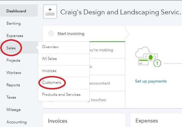 how to create an invoice in quickbooks