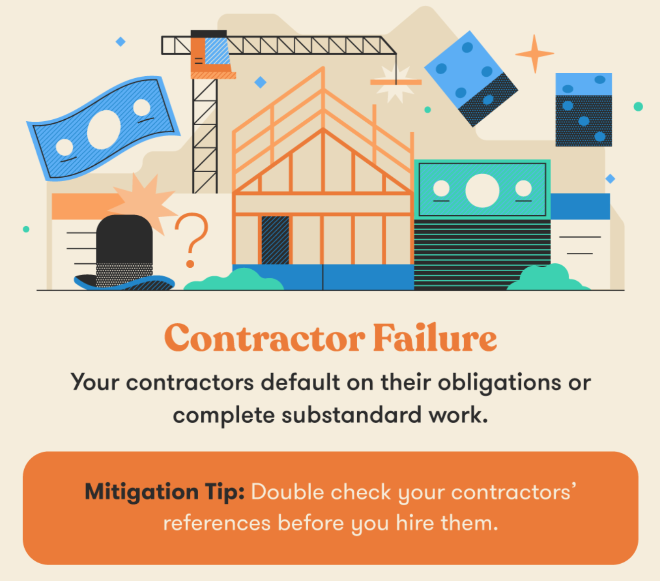 Contractor Failure Project Risk