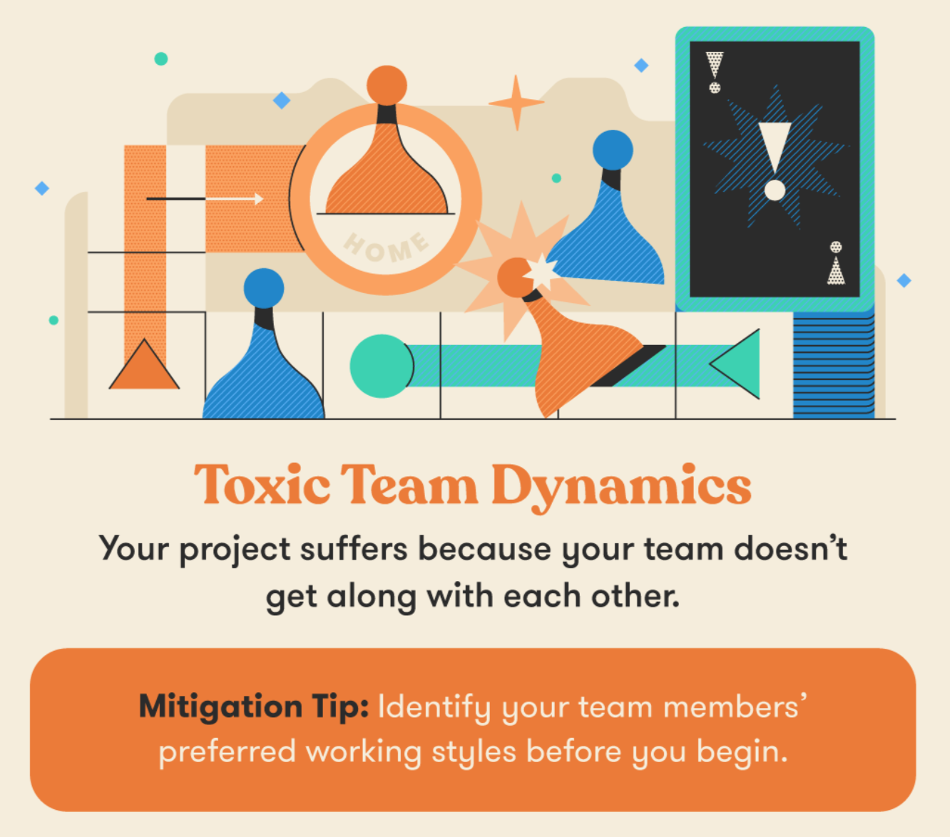Toxic Team Dynamics Project Risk