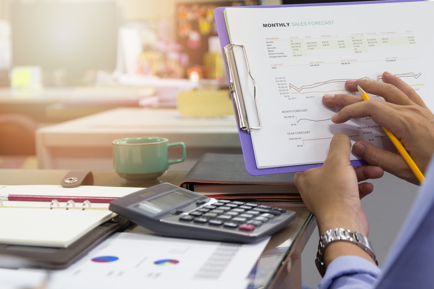 what is sales forecasting