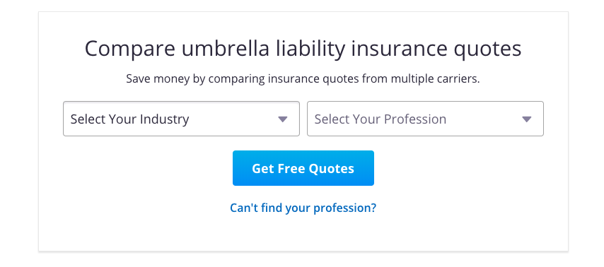 excess liability coverage from insureon