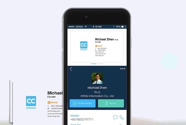 8 best business card scanner apps for 2021